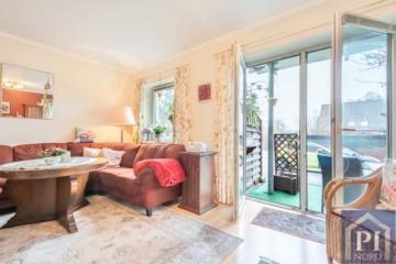 Schöne Eigentumswohnung mit zwei Terrassen, Stellplatz und 95 m² Wohn- und Nutzfläche! Vermietet, 24111 Kiel, Erdgeschosswohnung