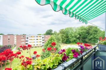 Eigentumswohnung in Suchsdorf- Zentral, gut geschnitten mit Blick ins Grüne, 24107 Kiel, Erdgeschosswohnung