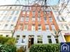 Helle 2-Zimmer-Wohnung mit Balkon am Südfriedhof. Bezugsfrei! - Repräsentatives Wohnhaus