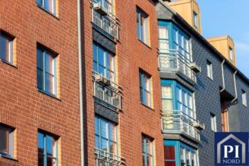 Bezugsfreie 2-Zimmer-Wohnung mit hochwertigen Fliesen inkl. TG-Stellplatz, 24114  Kiel, Etagenwohnung