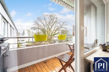 Stilvoll renovierte Eigentumswohnung in ruhiger Lage von Kiel!, 24109 Kiel, Etagenwohnung