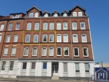 Hohe Decken, Stuck und Holzdielen! 3 Zimmer in zentraler Lage!, 24113 Kiel, Etagenwohnung