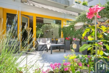 Schöne Terrassenwohnung mit Garten und Blick ins Grüne!, 24146 Kiel, Erdgeschosswohnung