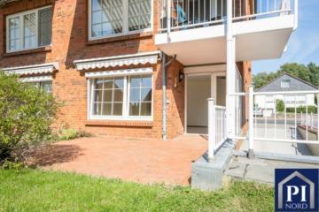 Schön geschnittene Eigentumswohnung mit Terrasse und Tiefgaragenstellplatz. Barrierearm!, 24214 Gettorf, Erdgeschosswohnung