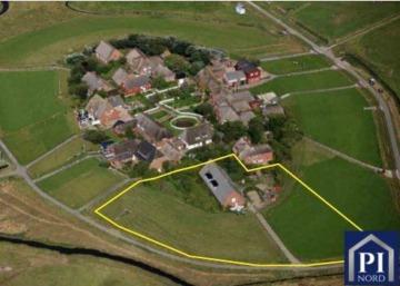 IHRE einzigartige Immobilie auf einer Hallig im Nationalpark Wattenmeer?, 25867 Oland, Einfamilienhaus