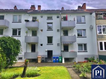 Gute Rendite in zentraler Lage von Kiel! Vermietet., 24116 Kiel, Erdgeschosswohnung