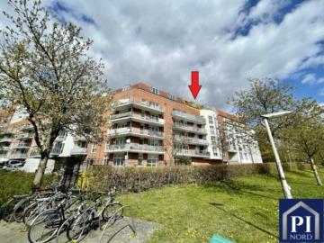 Kapitalanlage in Fördenähe! ETW inkl. Dachterrasse und Tiefgaragenstellplatz., 24143 Kiel, Maisonettewohnung