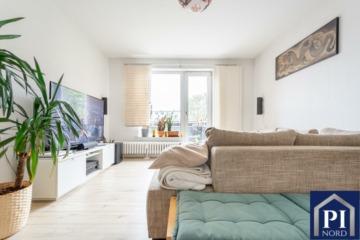 Modern und Chic mit Balkon, renoviert und bezugsfrei! Wohnen in der Brunswik., 24105 Kiel, Etagenwohnung